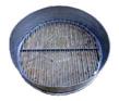 2- щелевое (расстояние 8мм между стальными прутками 5мм)