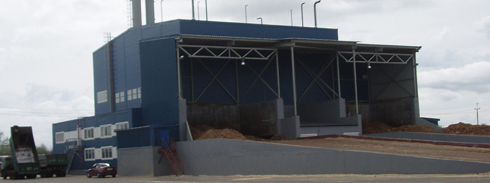 ТЭЦ на древесных отходах 25 Лесозавода