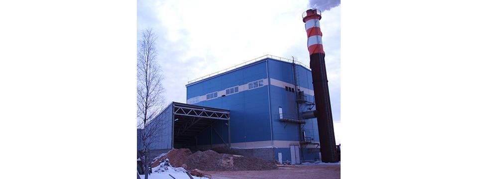 ЗАО Онега Энергия котельная со складом топлива