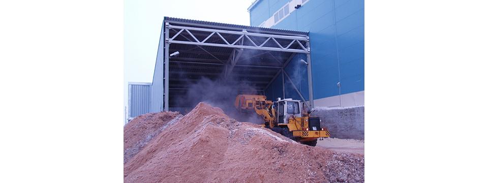 Подача топлива в котельной ЗАО Онега Энергия